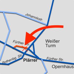 Entspannungszentrum Nürnberg Anfahrt